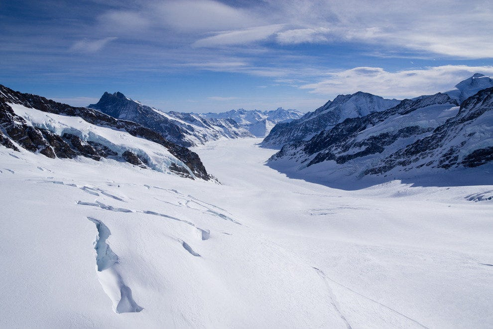 The Great Aletsch Glacier: Long Views