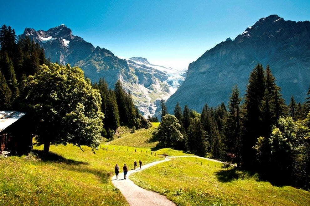 Grindelwald First Hiking