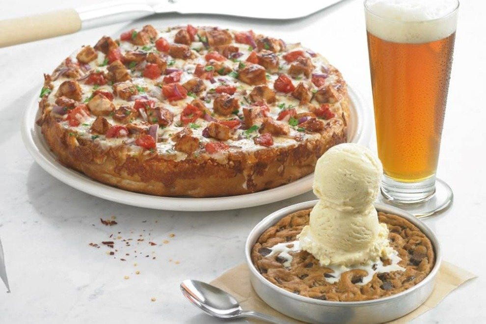 BJ's triple threat: beer, deep-dish pizza and pizookie