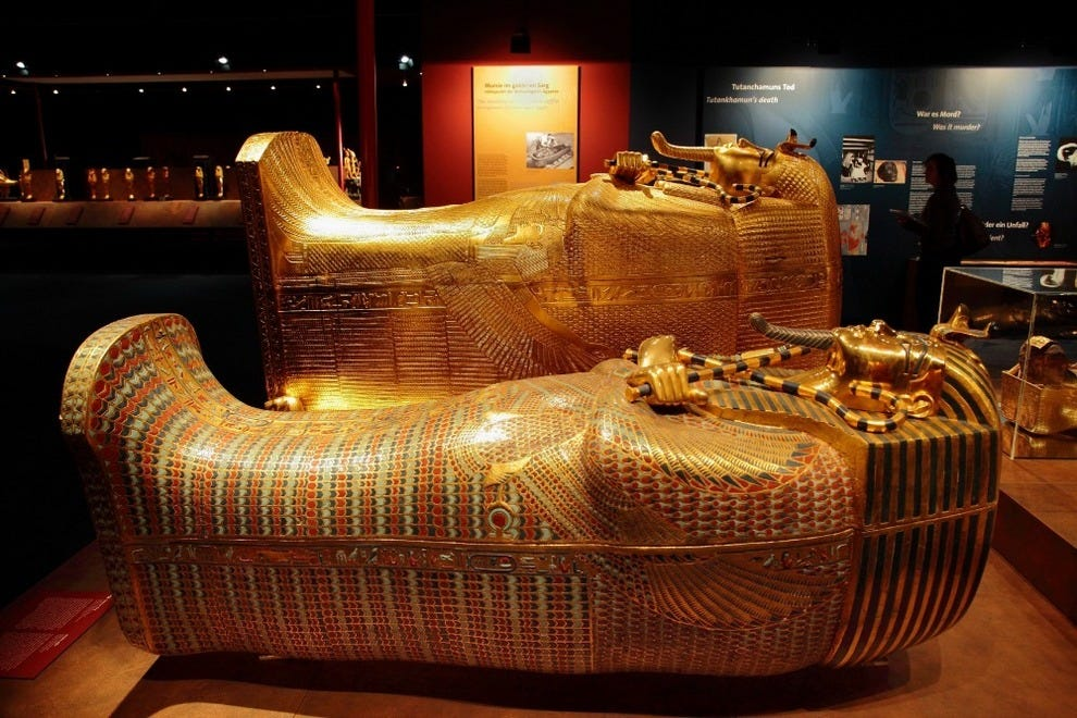 Experience King Tut S Tomb At Thenat In San Diego