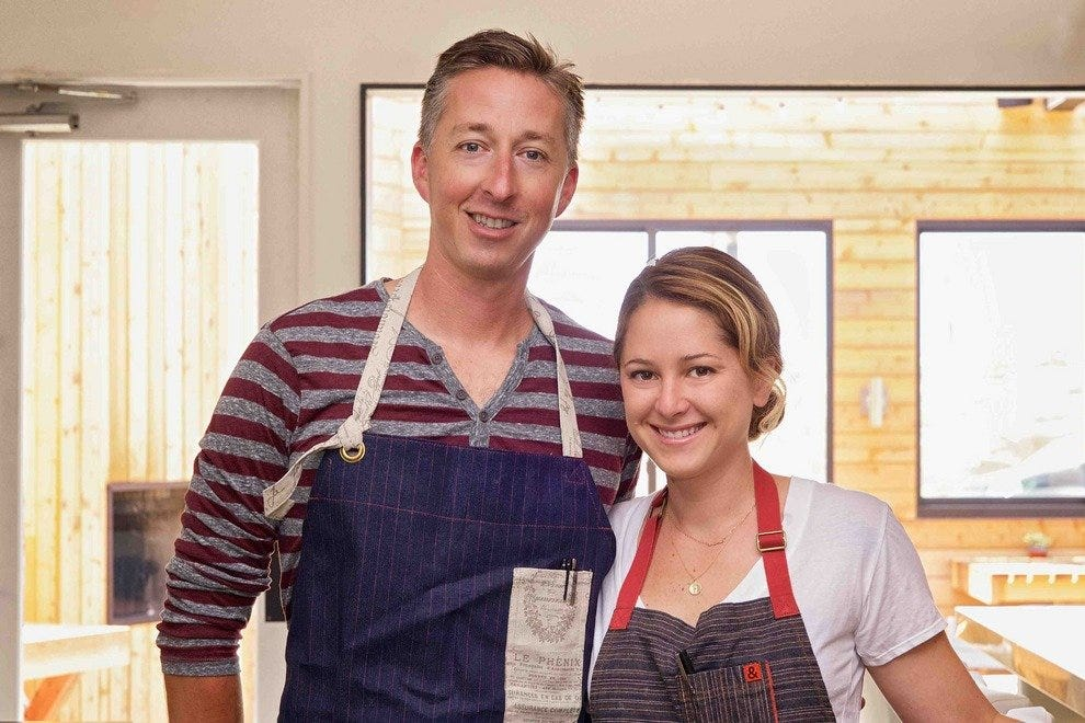 Chefs Brooke Williamson and Nick Roberts, the husband-and-wife team behind Playa Provisions