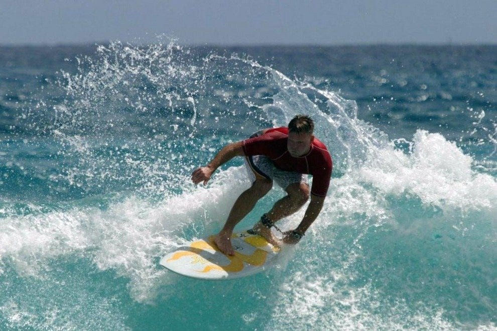 The Rick Salick Pro-Am Surf Festival is the largest charitable surfing festival in the world