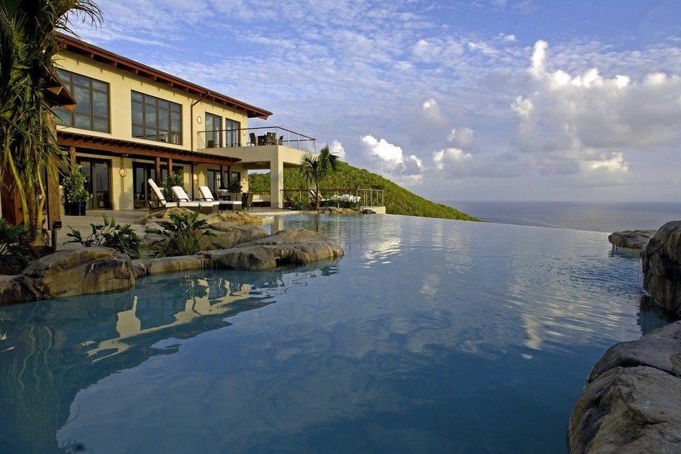 Paradise on private Peter Island, BVI