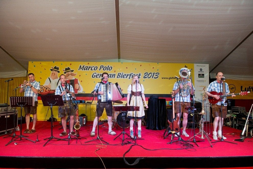 Marco Polo German Bierfest's much-loved band