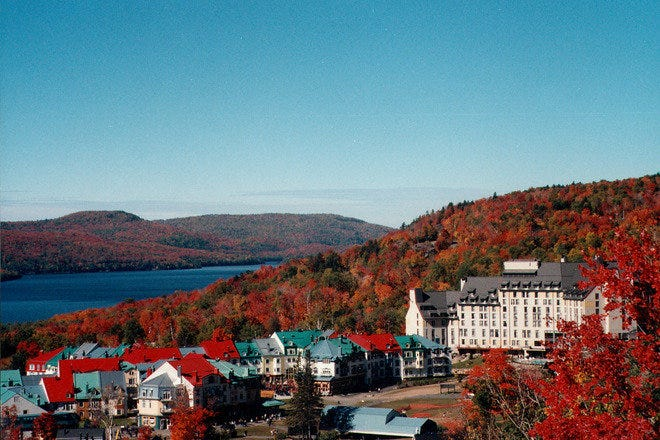 10 of the best hotels for seeing gorgeous fall foliage