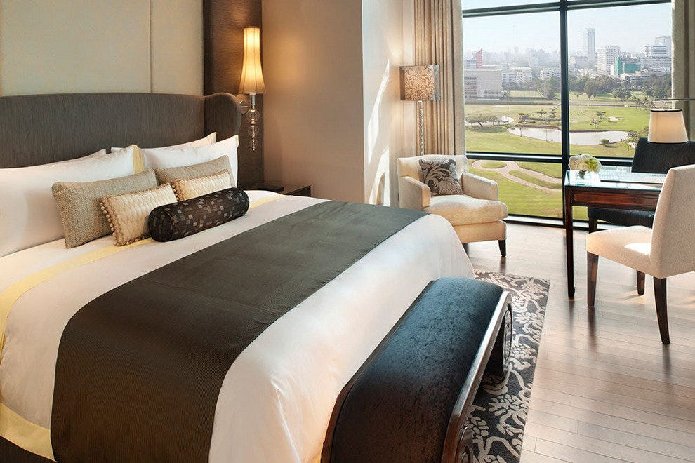 Horse Races in Bed, Luxury at the St. Regis
