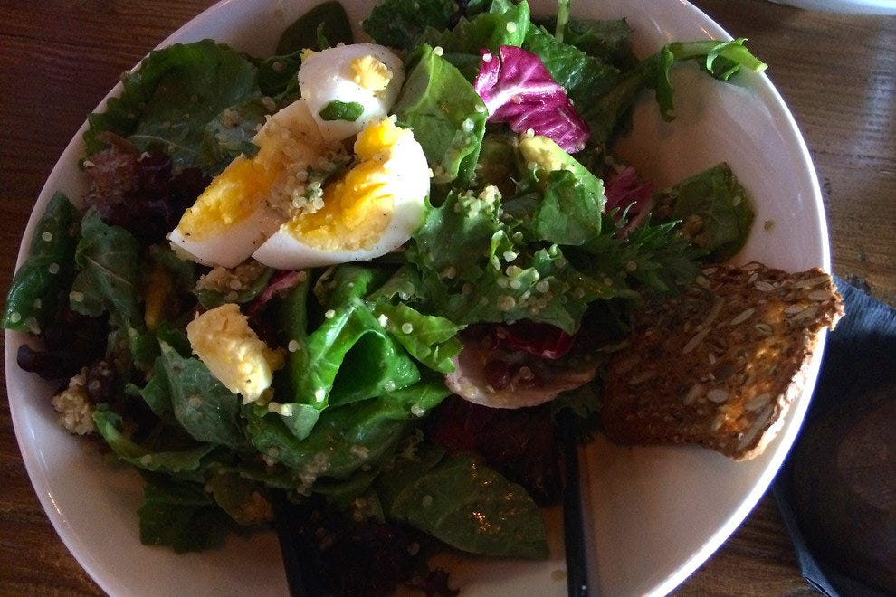 Chop Shop's salads are interesting, filling and delicious on their own or along with meat dishes