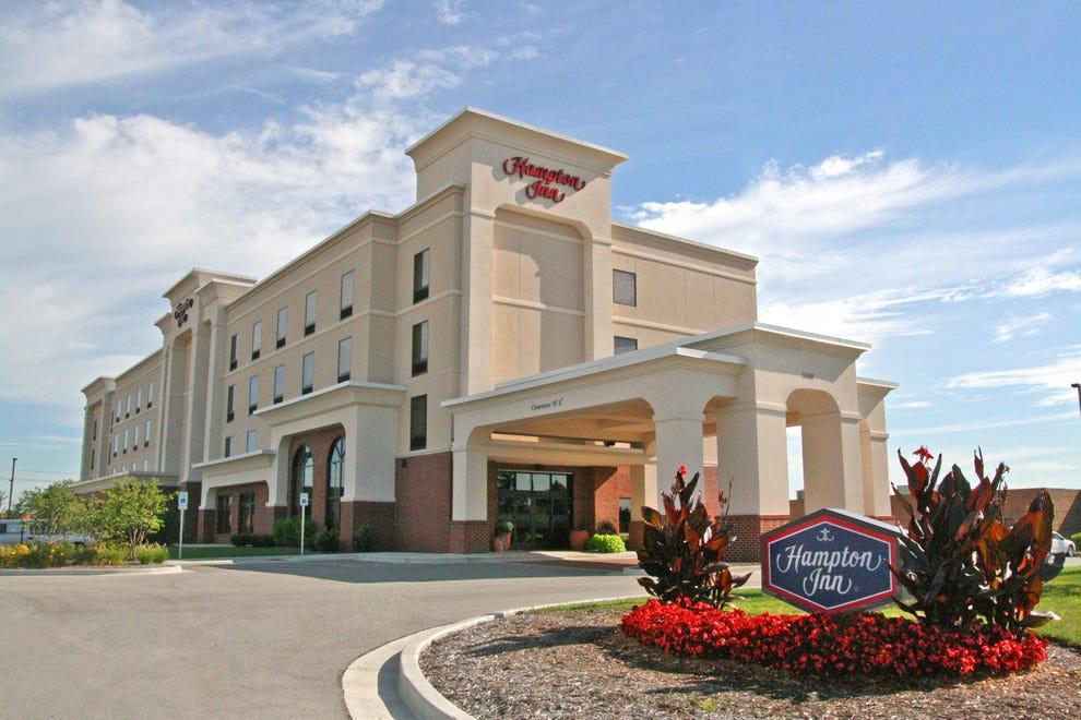 印第安纳波利斯西北汉普顿酒店-公园100
