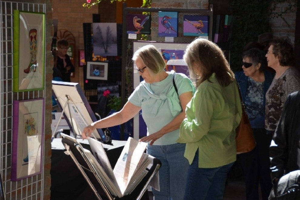 Local art is the main attraction at Tucson's Four Corners Festival, which celebrates one of the city's most eclectic art and shopping districts