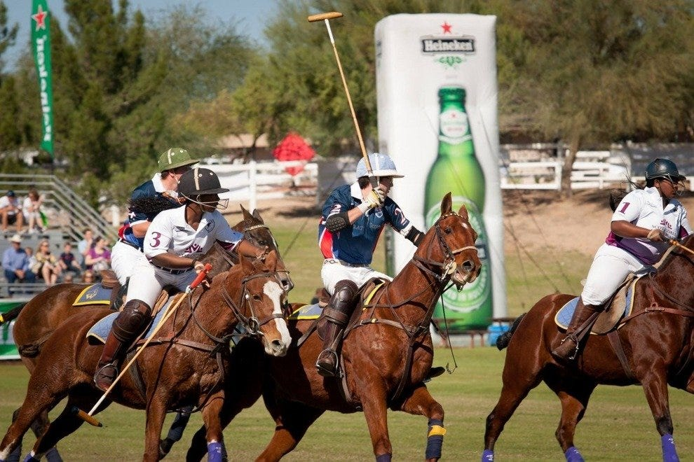 The Scottsdale Polo Championship is one of the city's biggest annual sporting events