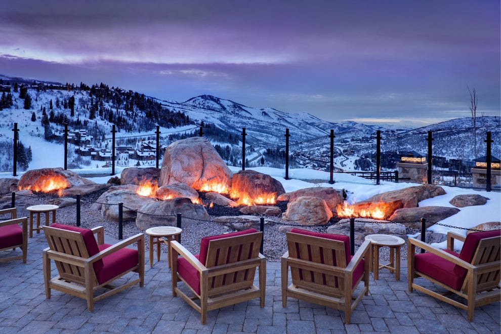 10best Hotels With Outdoor Fire Pits Hotels Photo