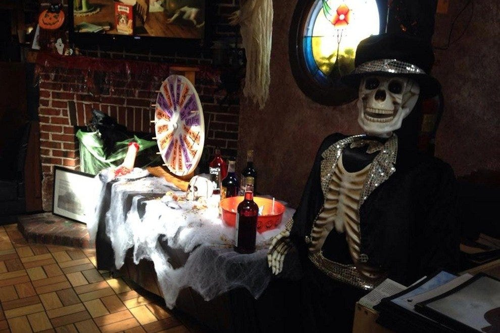 Consider reserving a table well in advance around Halloween time,as this Space Coast restaurant fills up quick with seekers of spooks
