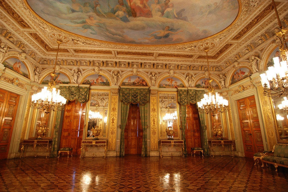 Catete Palace's grand interior