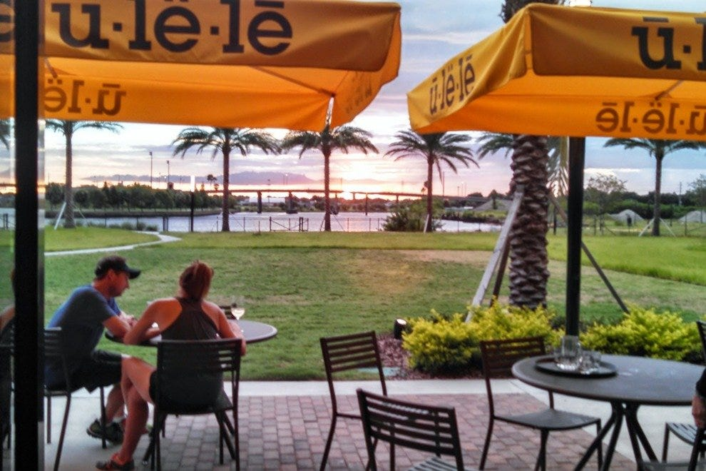 Ulele is perfectly positioned to catch spectacular Florida sunsets