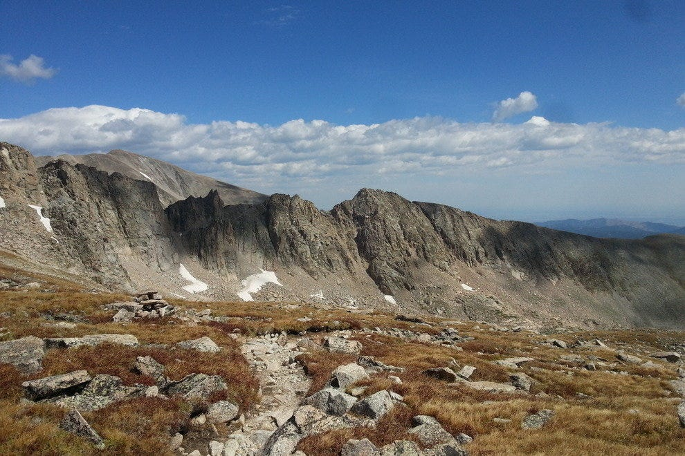Twelve thousand feet just below windy Pawnee Pass and the spectacular Continental Divide