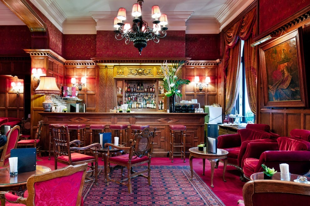 Bar Anglais at The Hotel Raphael