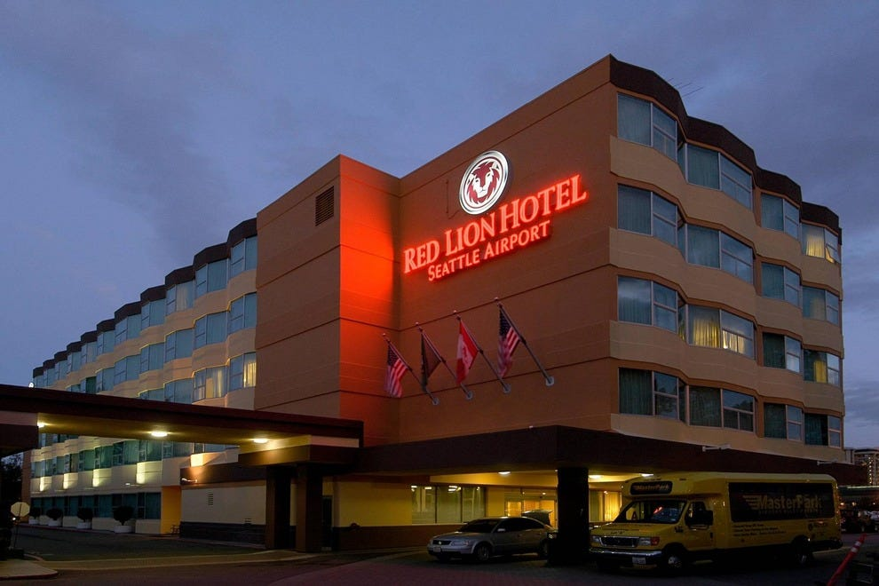 Red Lion Hotel Seattle Airport Seattle Hotels Review
