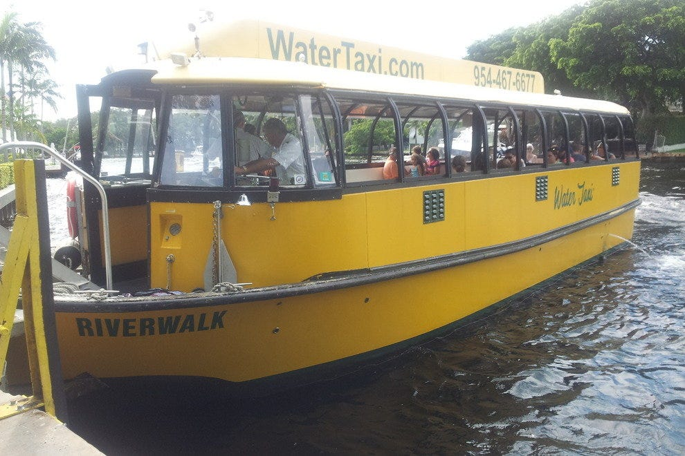 The Fort Lauderdale Water Taxi