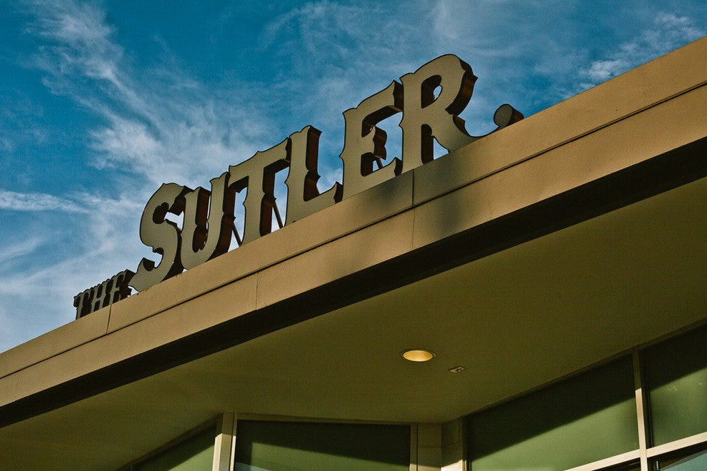 The Sutler is now open in the Melrose development