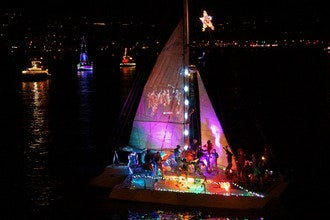 Santa Barbara's Parade of Lights: Holiday Sparkle on the Water