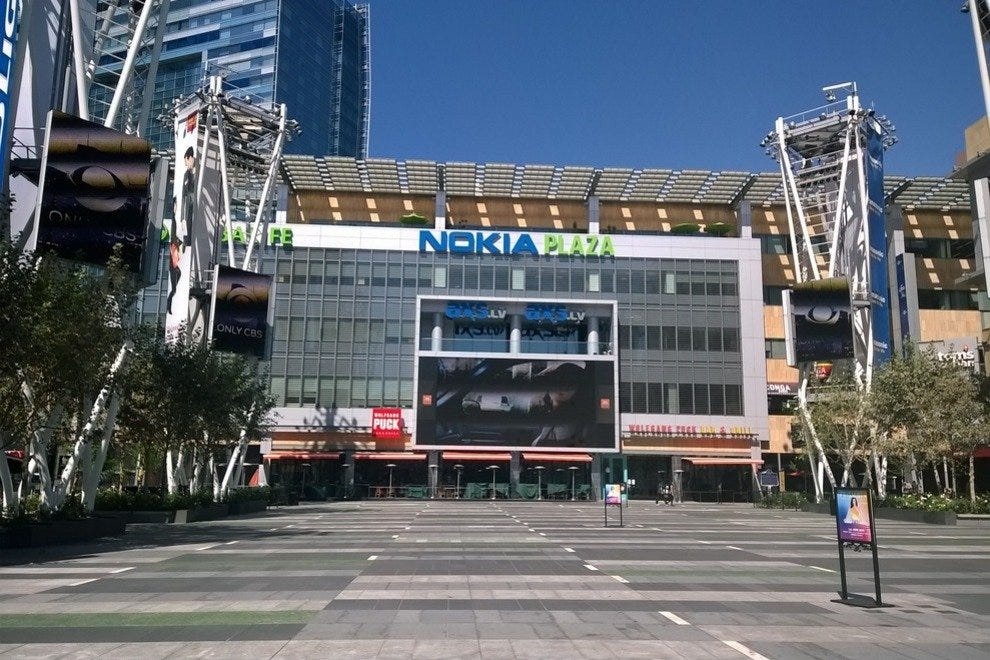 The Plaza in front of Nokia Live