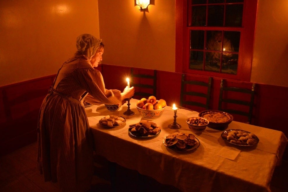 Conner Prairie by Candlelight