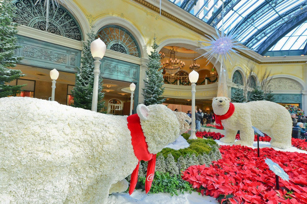 Bellagio Conservatory Botanical Gardens Las Vegas Attractions Review 10best Experts And