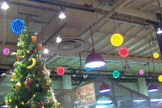 Reading Terminal Market Holiday Railroad