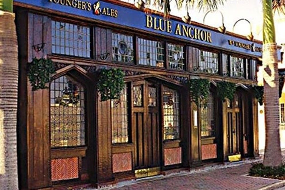 The Blue Anchor British Pub