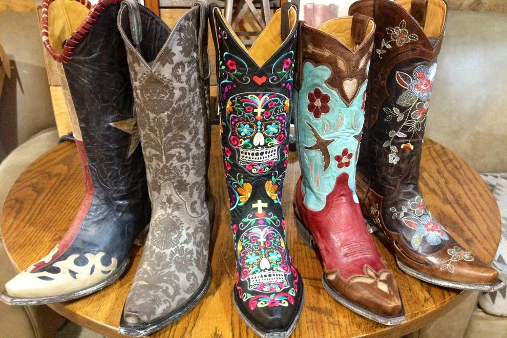 Colorful Cowgirl Boots - Boot Hto
