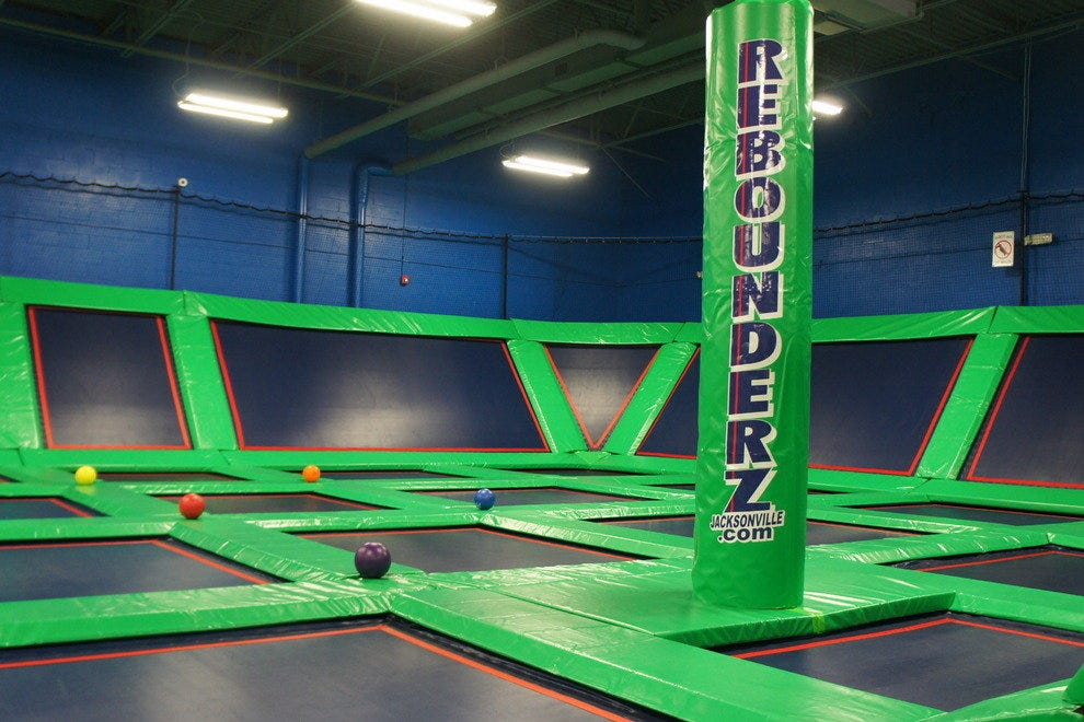 Rebounderz includes 40,000 square feet of extreme fun