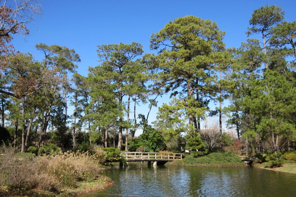 Hermann Park Celebrates Centennial With New Gardens Pavilion And More Attractions Article By