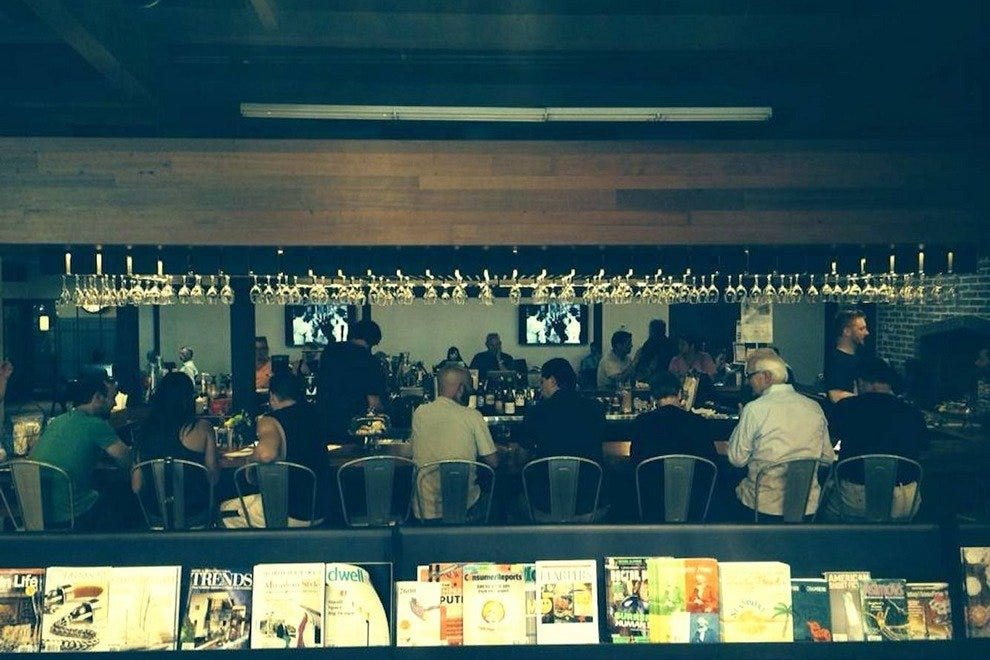 First Draft is a new book-themed bar in central Phoenix