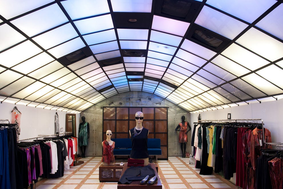 Major clothing stores