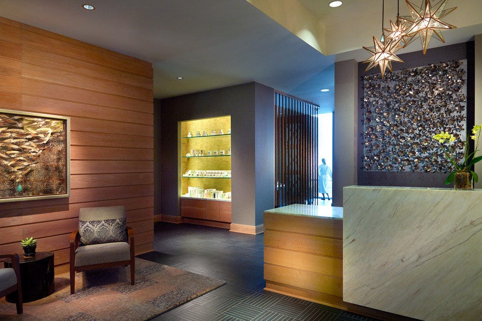 At Omni Nashville, you can get wine and a 50-minute treatment for $99 on Wednesdays