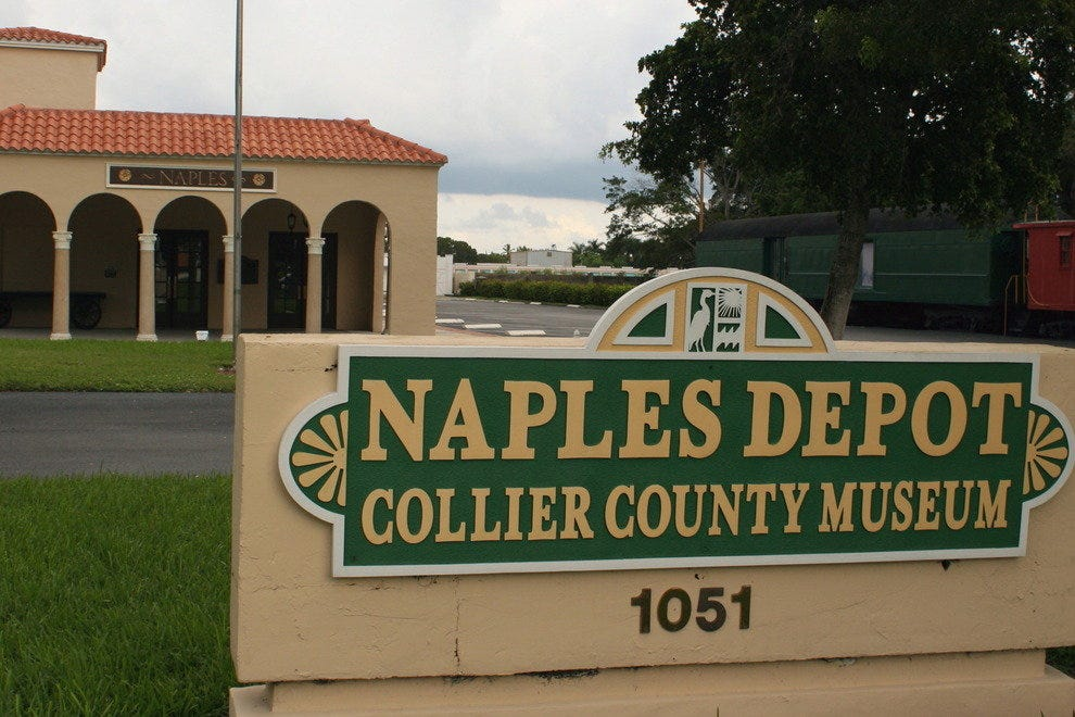 Naples' circa-1926 depot-turned-museum