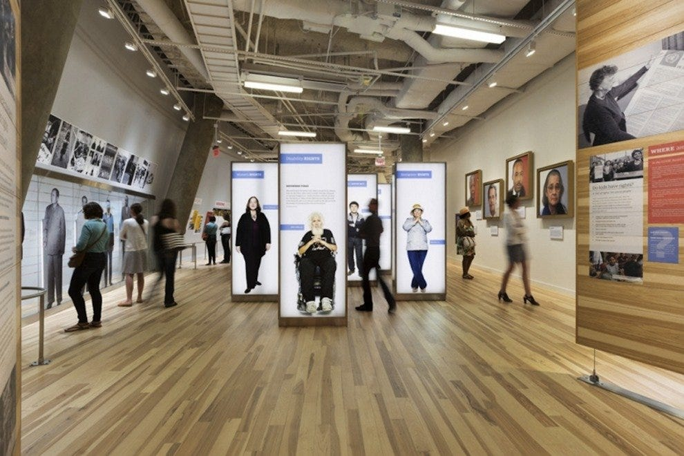Human rights find a global perspective at this new museum