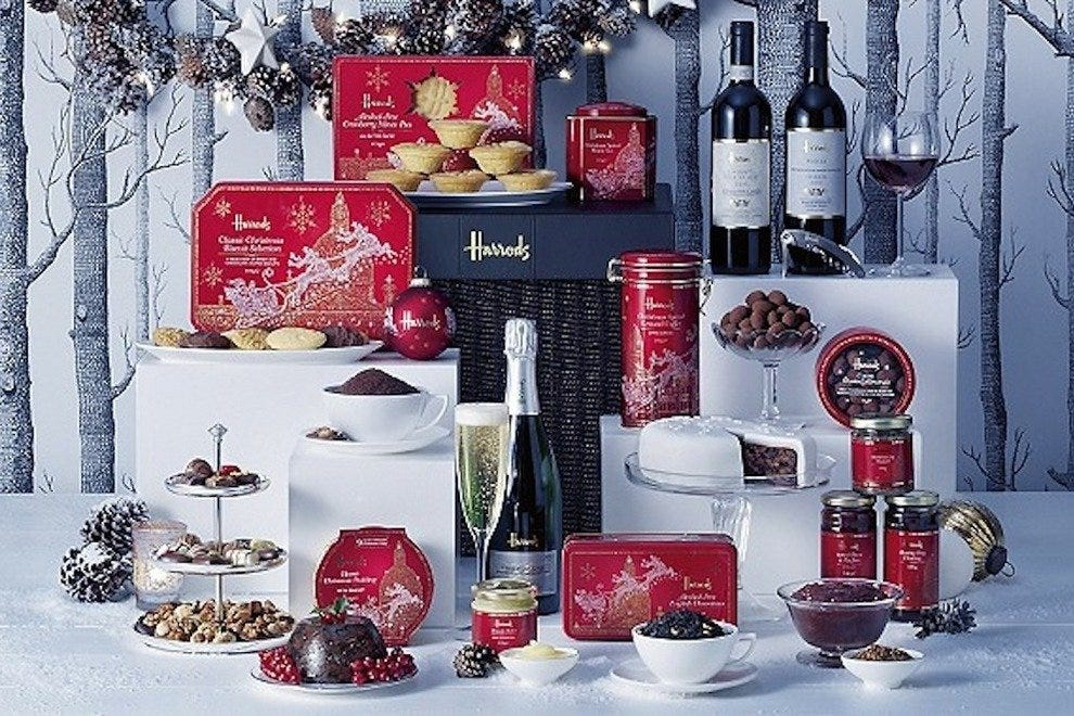 Classic hampers from Harrods