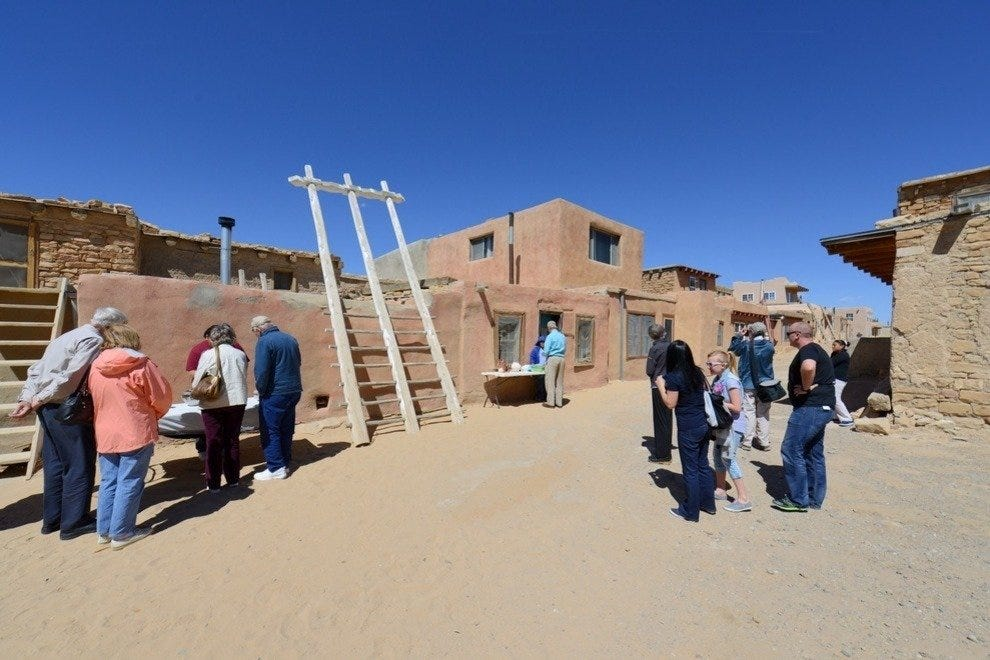 See the ancient home of the Acoma people