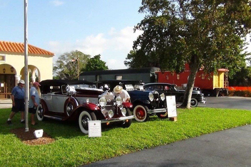 Naples Depot Museum hosts an annual antique auto show and showcases the area's transportation history year-round
