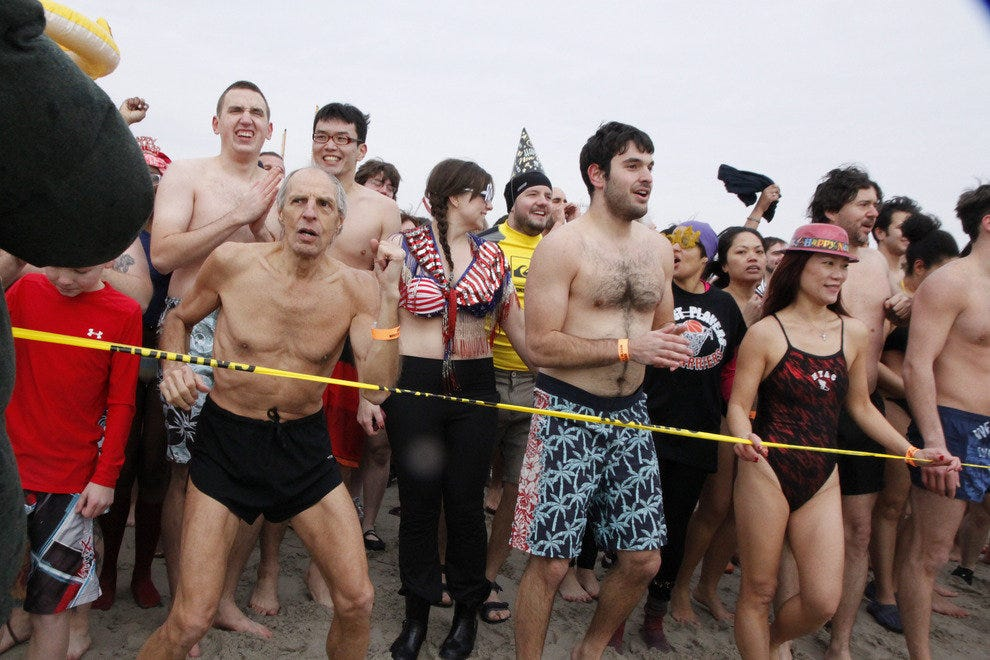 New Year's Day Polar Bear Plunge