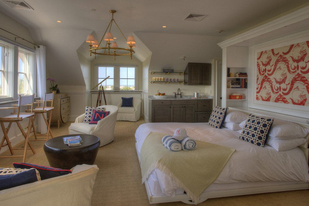 Guest room at the Nantucket