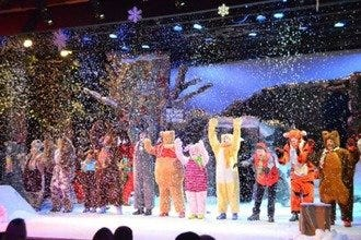 A Winnie the Pooh Christmas Tail