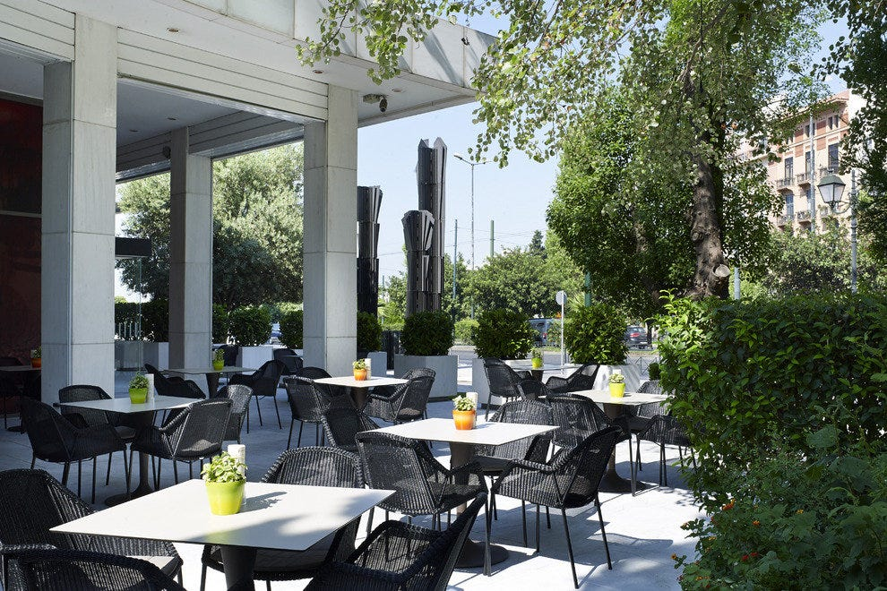 Byzantino Terrace at Hilton Athens