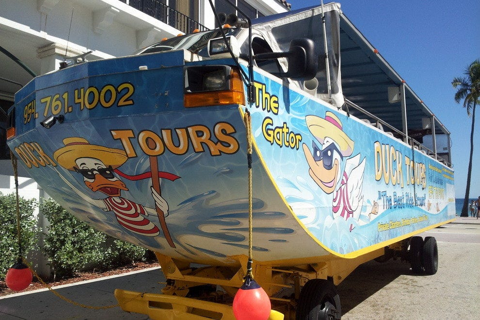 Take a Ride on the Duck Tour