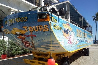 Tour Fort Lauderdale by Land and Sea on Duck Tours