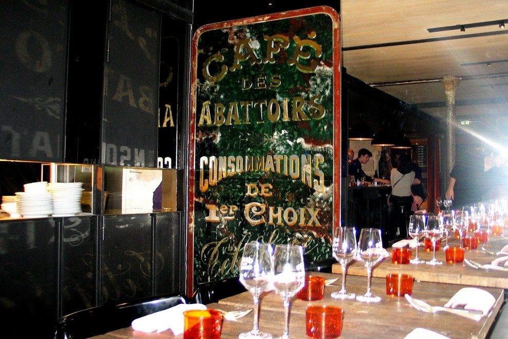 Caf Ef Bf Bd Des Abattoirs  Paris
