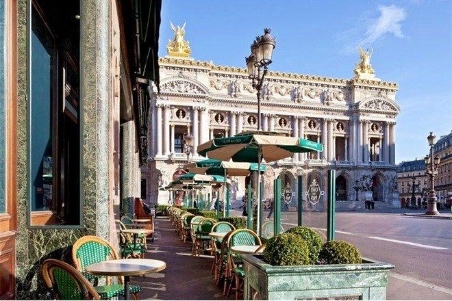 Cafés in Paris