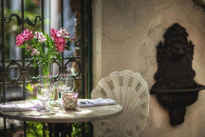 Romantic Dining in Charleston