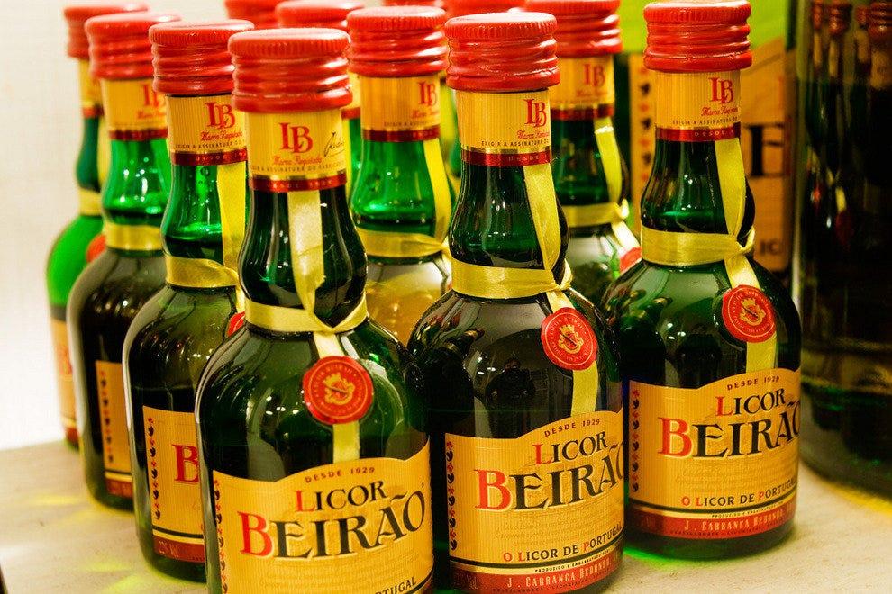 Distinctive Licor Beirao liquor,a favorite Portuguese tipple